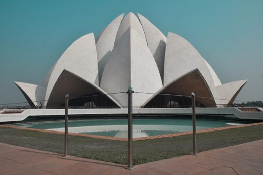 Lotus Temple New Delhi - Amazing floral-inspired architectural designs