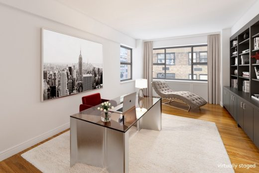 Dame Joan Collins Manhattan Pied-a-Terre