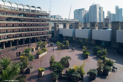 History of Brutalism at the Barbican London UK