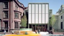 Morgan Library and Museum entrance by Renzo Piano architect
