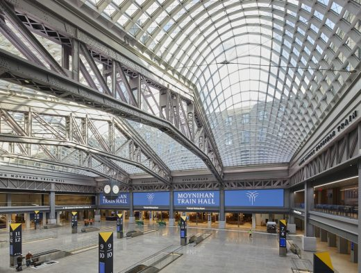 Moynihan Train Hall NY