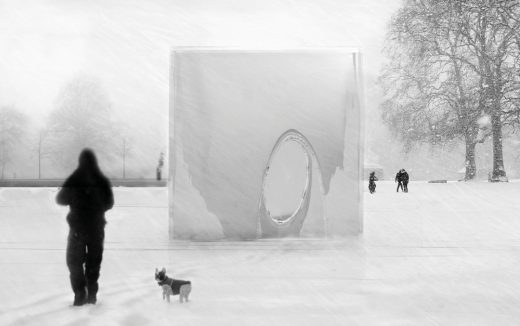 Winter Pavilion London Competition 3rd prize