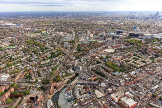 Camden Highline Competition London aerial