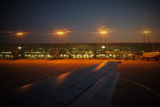 Cologne Airport - Flood lights will light up house surroundings