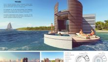 Floating House Ideas Competition Winner design