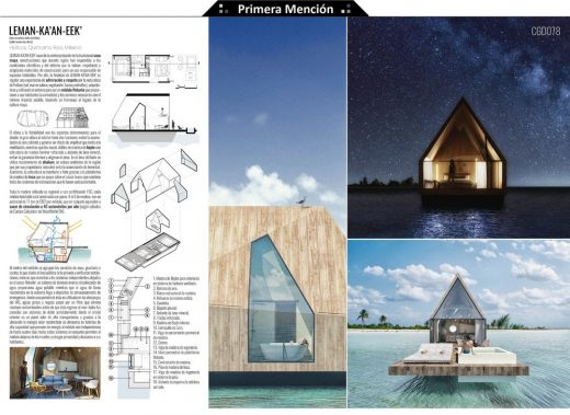 Floating House Ideas Competition 2nd place