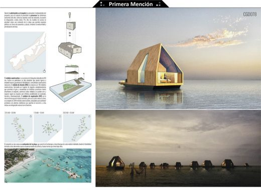 Floating House Ideas Competition 2nd prize
