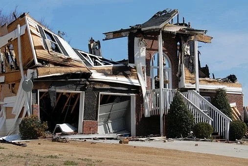 Repair or Sell Your Fire-Damaged House