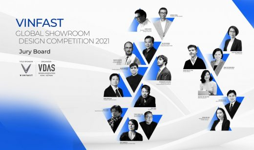 Vinfast Global Showroom architecture competition 2021