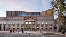 Aberdeen Art Gallery, Scotland, design by Hoskins Architects