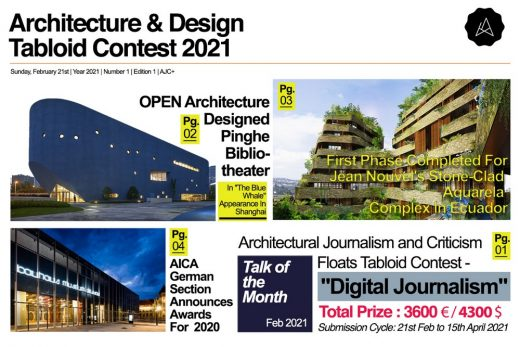 Architecture & Design Tabloid Contest 2021