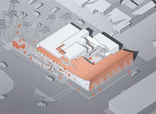 Hollywood Art and Culture Center Expansion aerial view