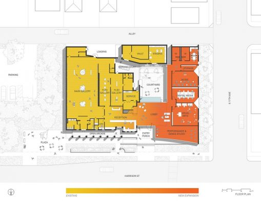 Hollywood Art and Culture Center Expansion plan