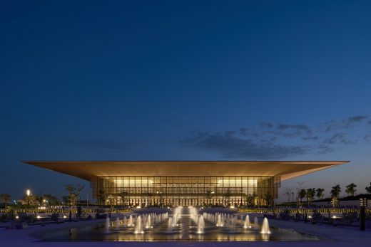 House of Wisdom in Sharjah building UAE by Foster + Partners