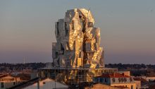 Luma Arles building design by Frank Gehry architect