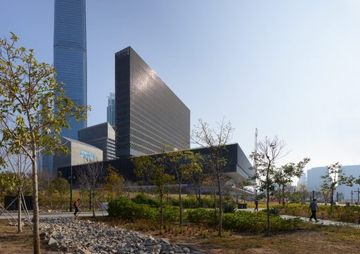 New West Kowloon Cultural District building