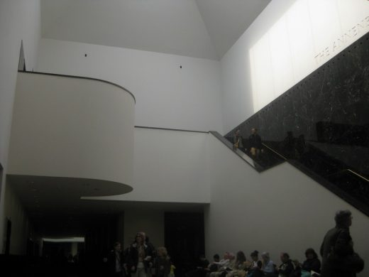Sainsbury Wing National Gallery Extension interior stairs