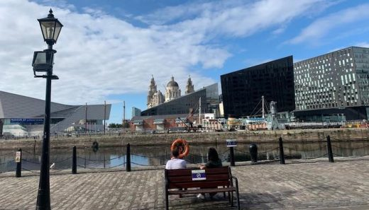 Museum of Liverpool building waterfront