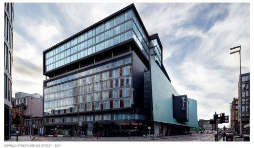 Radisson Blu Hotel Glasgow rooftop extension