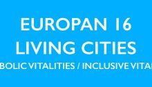Europan 16 Living Cities Design Competition
