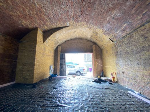 Low Line Railway Arches Bankside London