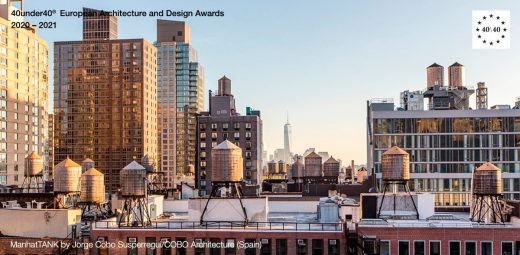 ManhatTANK by Jorge Cobo Susperregui/COBO Architecture - Europe 40 Under 40 Awards 2020-2021