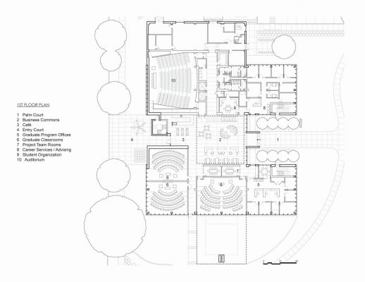 Muma College of Business USF, University of South Florida building plans
