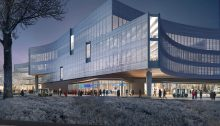 New Central Ford Campus Building Dearborn Michigan