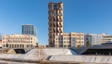 RCC Headquarters Yekaterinburg building by Foster + Partners