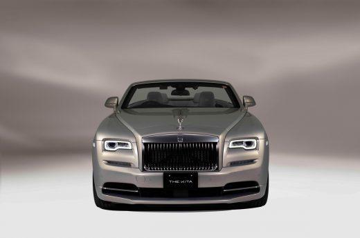 Rolls-Royce Bespoke Dawn by Kengo Kuma