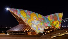 Sydney Opera House Projection NSW
