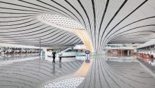 Beijing Daxing International Airport building, China, design by Zaha Hadid Architects