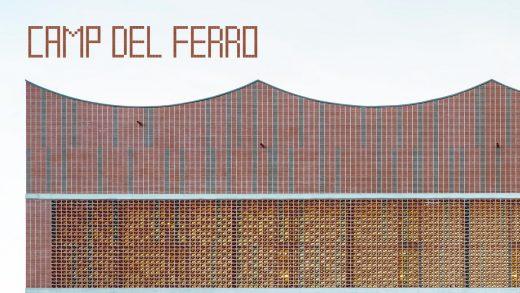Camp del Ferro Sports Center Barcelona building