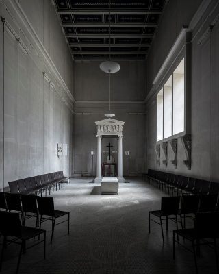 Chapel of Resurrection, The Woodland Cemetery, Stockholm interior