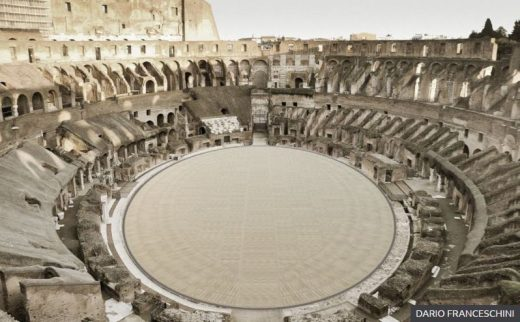 Colosseum Rome Building New Floor: Colisseo Roma