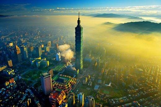 Taipei 101 by C.Y. Lee & Partners Architects / Planners