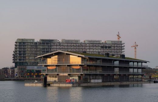 Floating Office Rotterdam harbour building