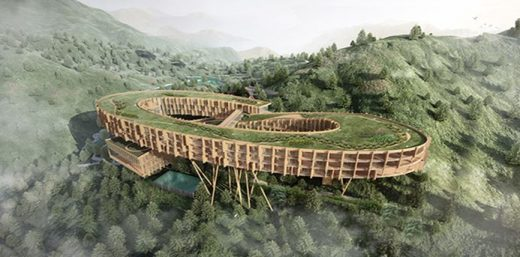 FX Mayr Wellness Eco Retreat in Wenzhou, China, design by AIM Architecture