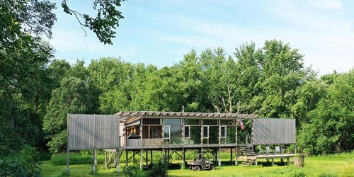 Glass Cabin, Fairbank, Iowa Residence