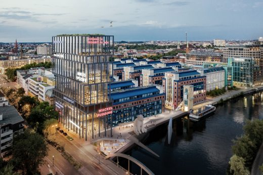 JellyTower– Social Condenser and Fun Palace, Berlin, Germany by CSMM - AR Future Project Awards 2021