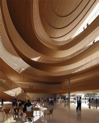 Jiaxing Civic Center Building by MAD Architects