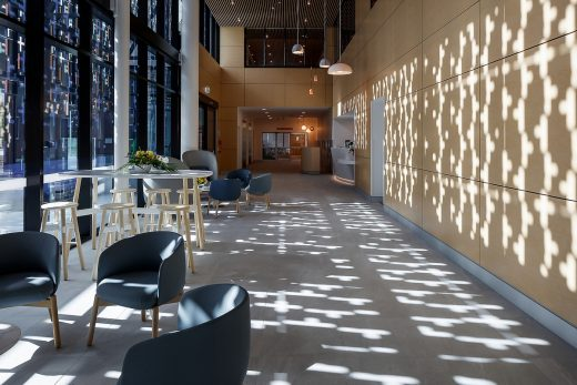 The Mercy Centre Mater Private Hospital Townsville interior design