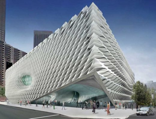 The Broad Art Foundation Building Los Angeles