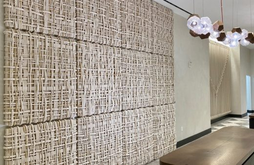 Woven Wall Panels by BroCoLoco