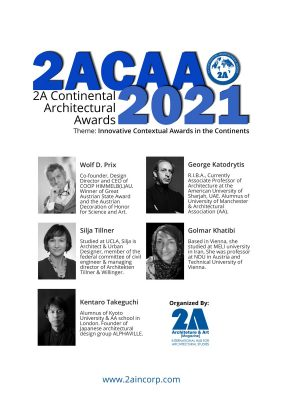 2A Continental Architectural Awards 2021 Jury