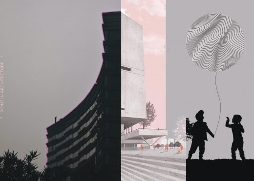 Archiol Point in architecture competition 2nd Prize Winner
