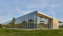 Bayeux Media Library Normandy France building