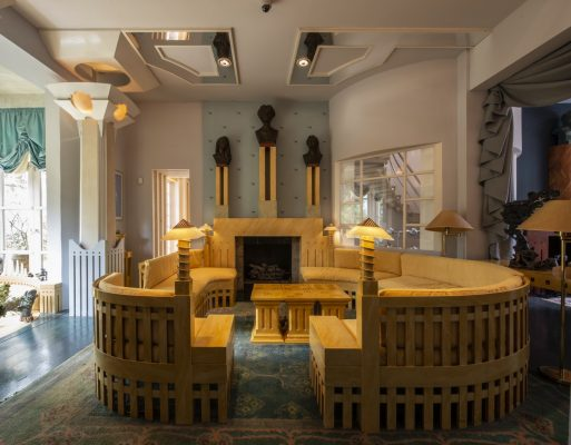 Holland Park Home by Charles Jencks in West London