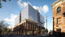 Craftworks office building Abbotsford Melbourne by CHT Architects