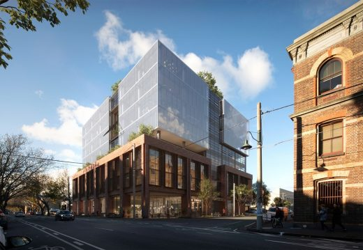 Craftworks Office Building Abbotsford Melbourne Architecture News
